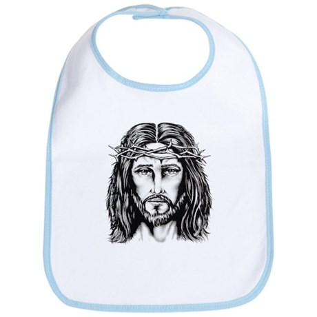 Jesus Crown of Thorns Bib