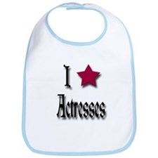 Love Actresses Bib