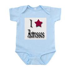 Love Actresses Infant Bodysuit