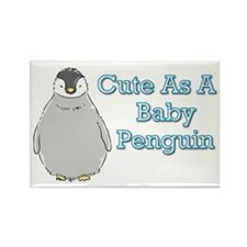Baby Penguin Rectangle Magnet