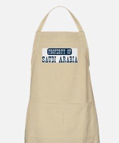 Property of Saudi Arabia BBQ Apron