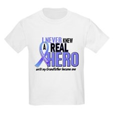 Never Knew A Hero 2 LT BLUE (Grandfather) T-Shirt