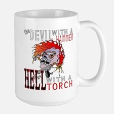 Devil with a Hammer Large Mug