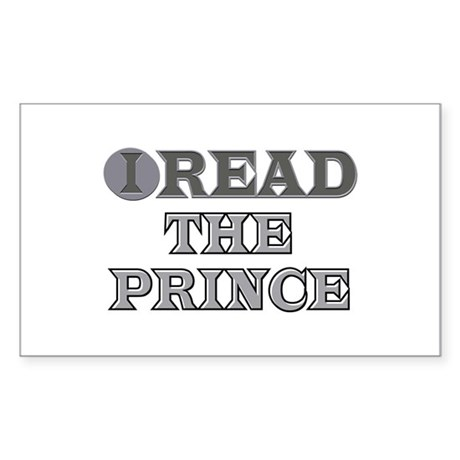 The Prince Rectangle Sticker