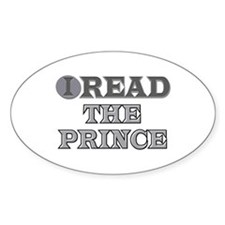 The Prince Oval Decal