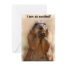 Prairie Dogs Greeting Cards (Pk of 10)