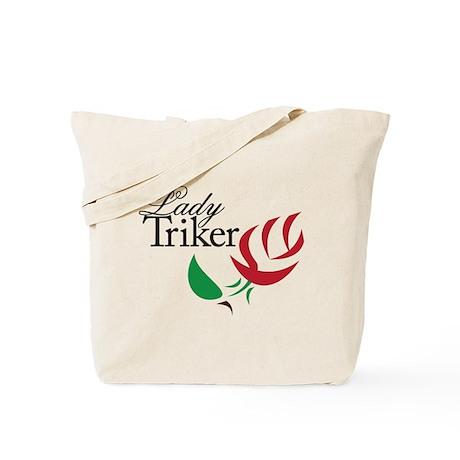 Lady Triker 1 Tote Bag