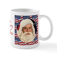 A Bush Christmas Santa Bush Patriotic Mug