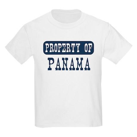 Property of Panama Kids Light T-Shirt