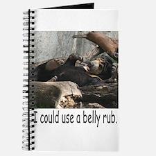 Sun Bear Belly Journal