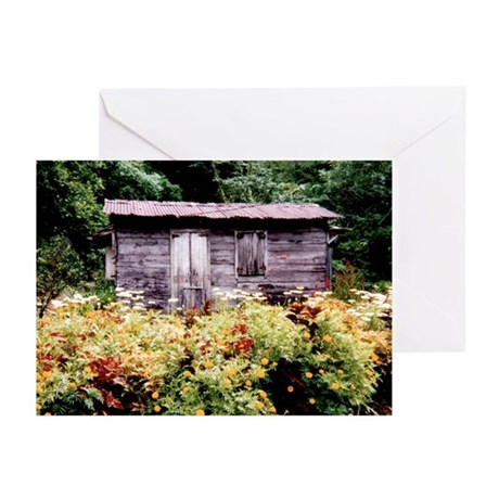 """Dominica """"Shack"""" Greeting Cards (Pk of 10)"""