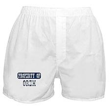 Property of Orem Boxer Shorts