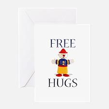Free Hugs Greeting Card