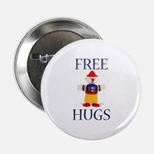 "Free Hugs 2.25"" Button"