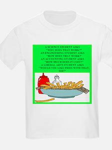 funny geek & professor T-Shirt