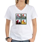 Cochins! Women's V-Neck T-Shirt