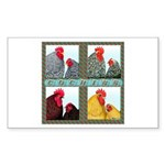 Cochins! Rectangle Sticker 50 pk)