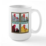 Cochins! Large Mug