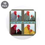 "Cochins! 3.5"" Button (10 pack)"