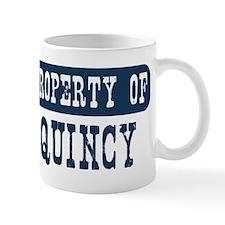 Property of Quincy Mug
