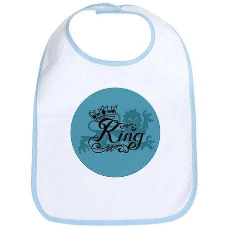 Crowned King Bib