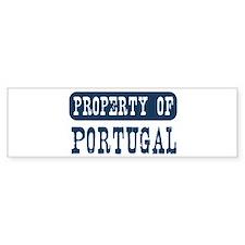 Property of Portugal Bumper Bumper Sticker