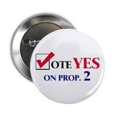 Vote YES on Prop 2 Button