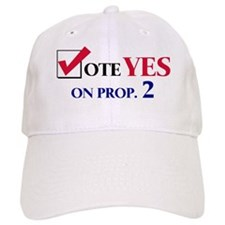 Vote YES on Prop 2 Baseball Cap