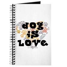 Dog is love, neutral. Journal
