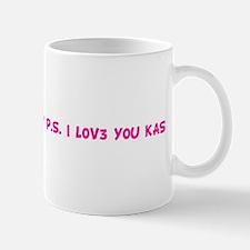 F0R C@S3YS 3Y3S 0N!Y P.S. I L Mug
