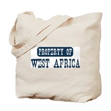 Property of West Africa Tote Bag