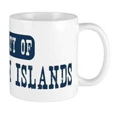 Property of US Virgin Islands Mug