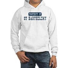 Property of St Barthelemy Hoodie