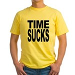 Time Sucks Yellow T-Shirt