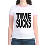 Time Sucks Jr. Ringer T-Shirt