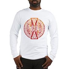 Celtic Knotwork Dragons Fire Long Sleeve T-Shirt