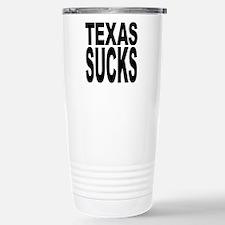 Texas Sucks Stainless Steel Travel Mug