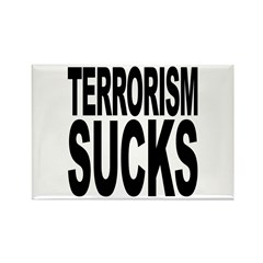 Terrorism Sucks Rectangle Magnet (10 pack)