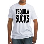 Tequila Sucks Fitted T-Shirt