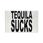 Tequila Sucks Rectangle Magnet