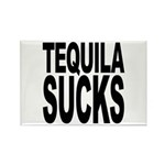 Tequila Sucks Rectangle Magnet (10 pack)