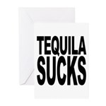 Tequila Sucks Greeting Cards (Pk of 10)