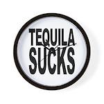 Tequila Sucks Wall Clock