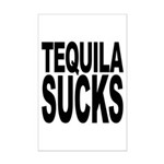Tequila Sucks Mini Poster Print