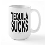 Tequila Sucks Large Mug