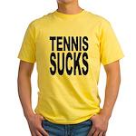 Tennis Sucks Yellow T-Shirt