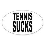Tennis Sucks Oval Sticker