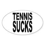 Tennis Sucks Oval Sticker (10 pk)