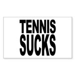 Tennis Sucks Rectangle Sticker