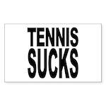 Tennis Sucks Rectangle Sticker 10 pk)
